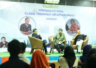 Seminar Nasional bertajuk 'Jurnalisme Data, Garda Terdepan Melawan Hoax'