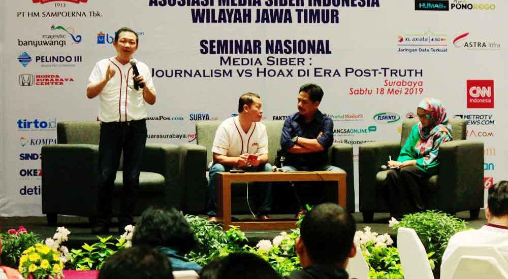 Dua Eks Surabaya Post di Seminar Nasional AMSI