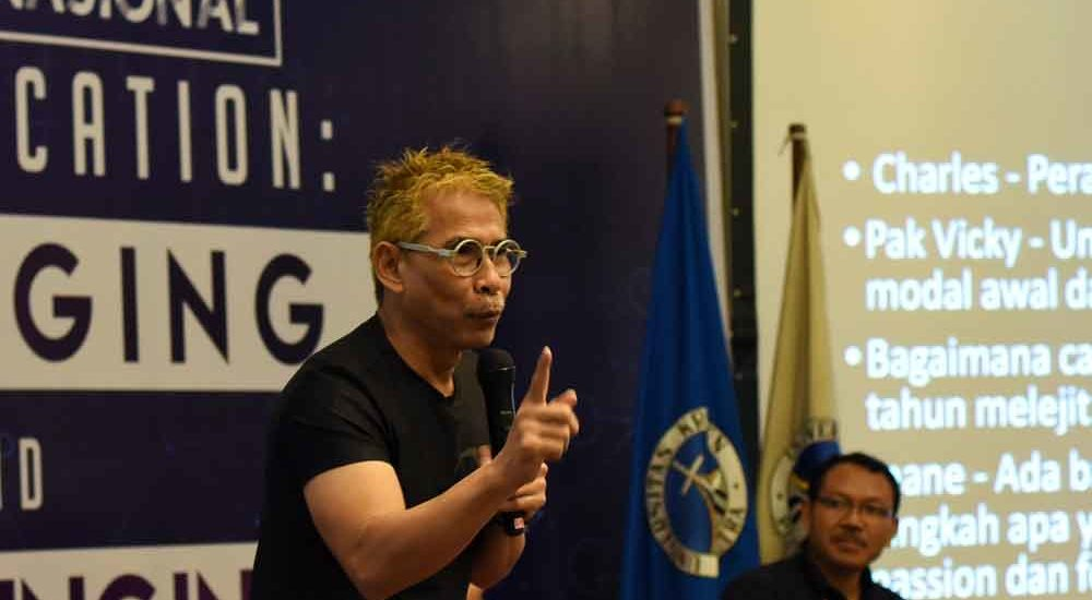 Budiono Darsono : Menyiapkan Kompetensi Milenialls juga Tugas Pendidikan Tinggi