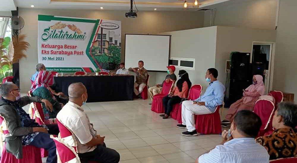 Temu Kangen Gayeng Wartawan dan Karyawan Eks Surabaya Post